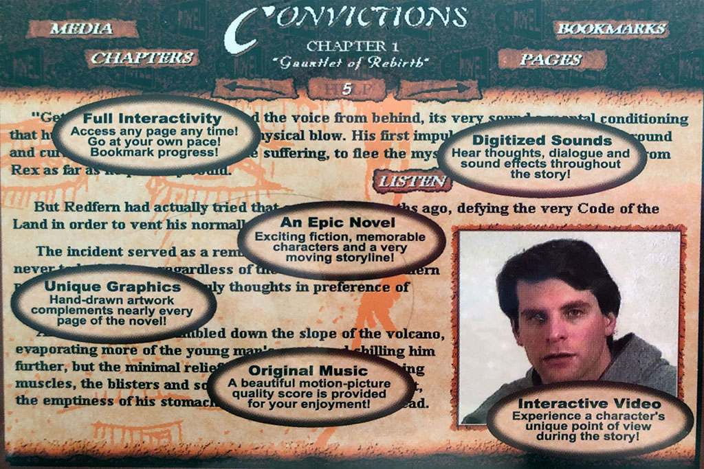 Convictions MediaNovel CD-ROM Product