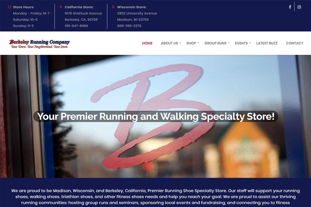 Berkeley Running Company Website