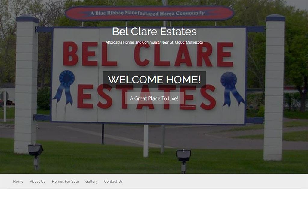Bel Clare Estates Website