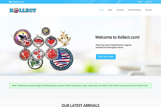 Kollect E-Commerce Website