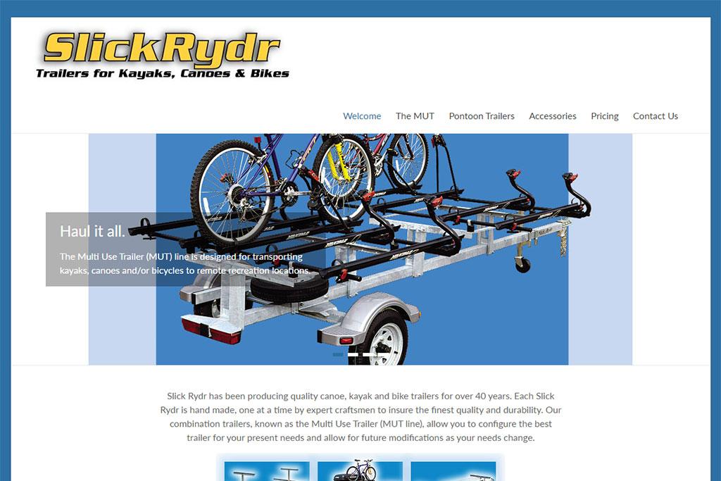 SlickRydr Website