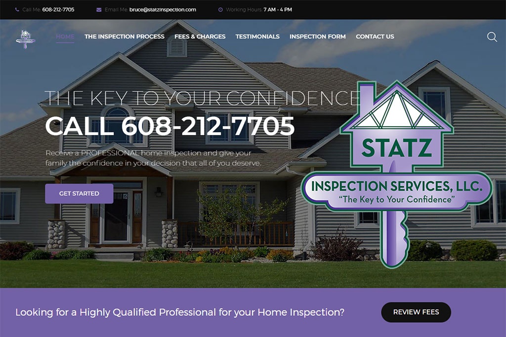 Statz Inspection Services, LLC Website