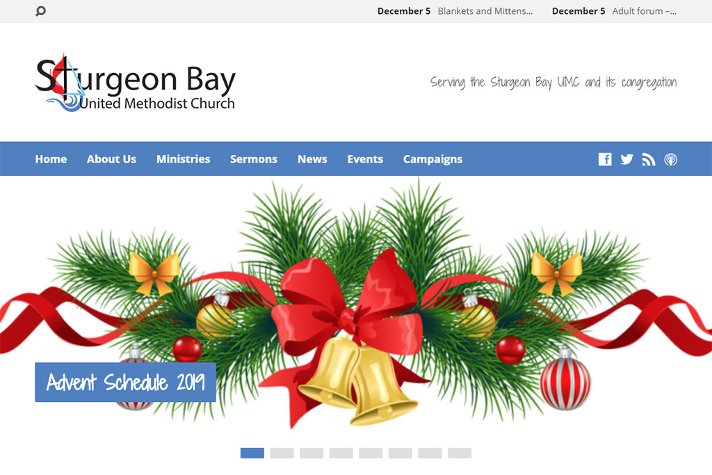 Sturgeon Bay UMC Website