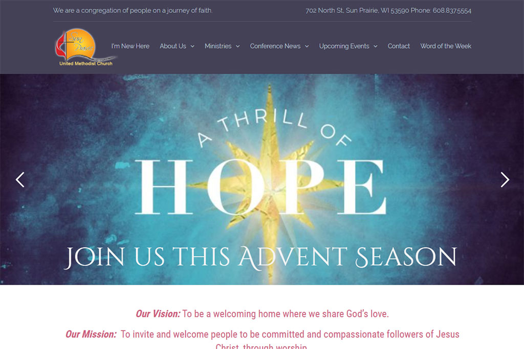 Sun Prairie UMC Website