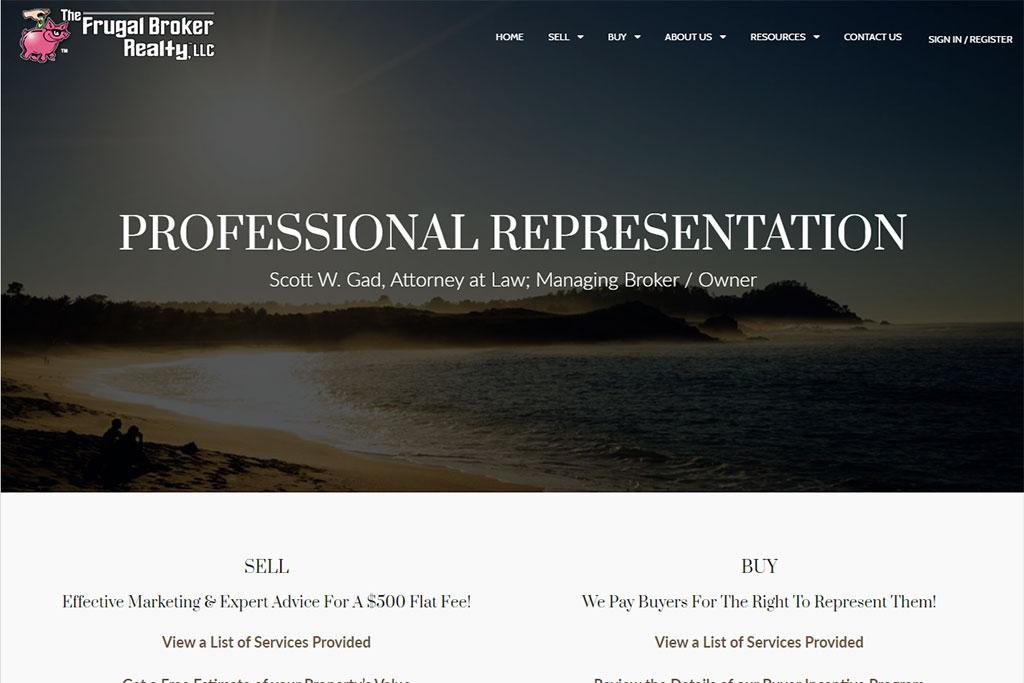 The Frugal Broker LLC Website