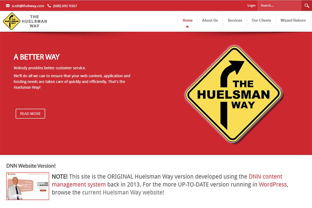 The Huelsman Way Website (DNN)