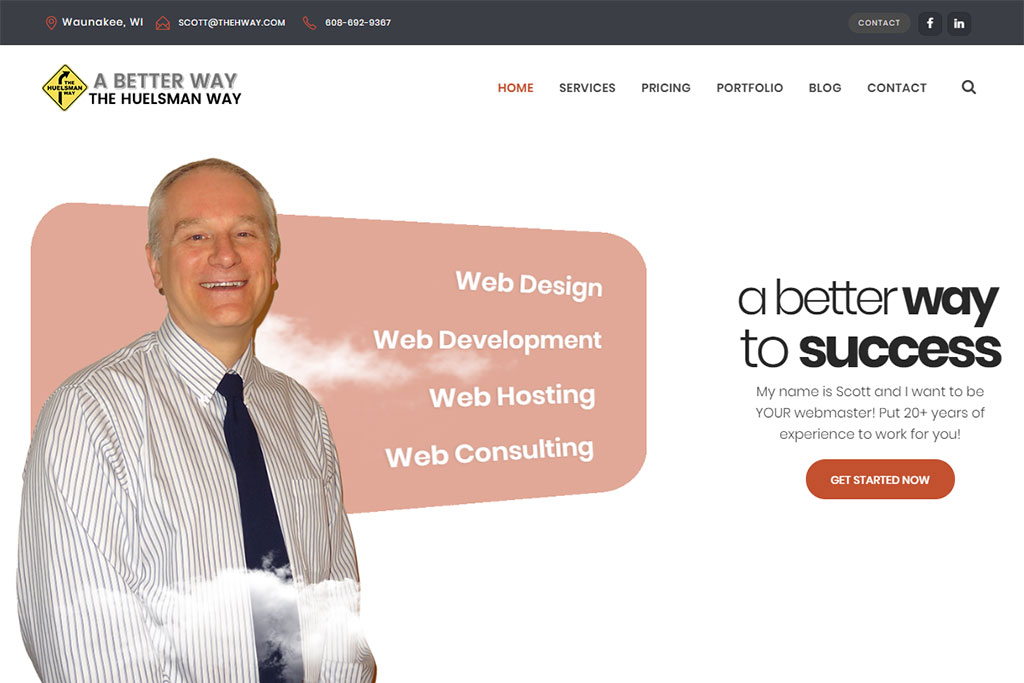The Huelsman Way Website (WordPress)