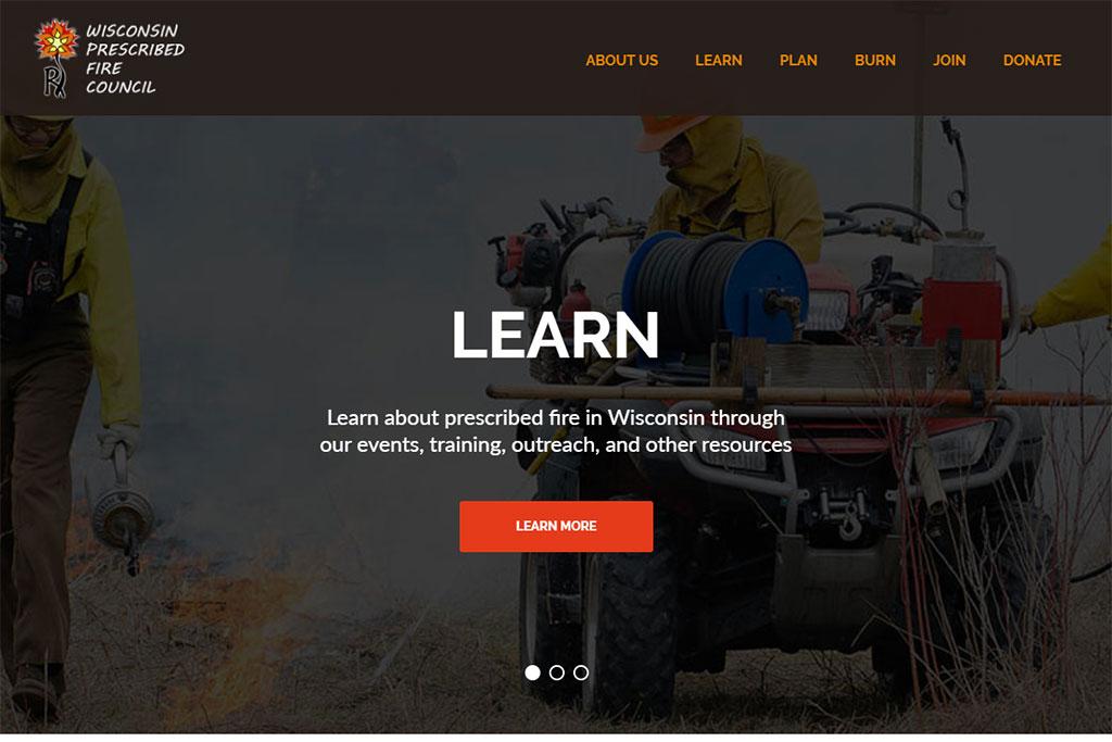 Wisconsin Prescribed Fire Council Website