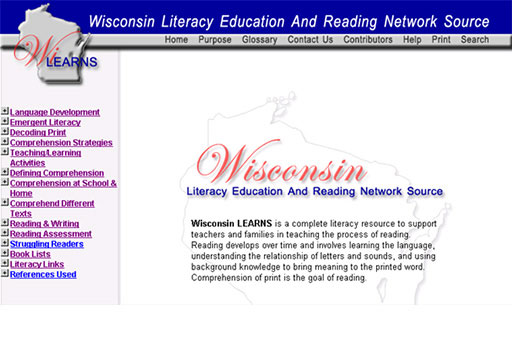 WI LEARNS Application